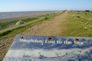 Slaughden lost to the sea